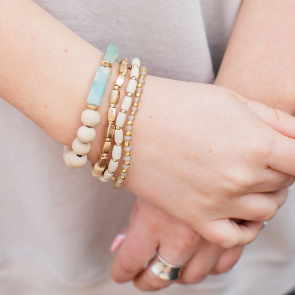 Anna Maria Stretchy Stack Bracelet Set