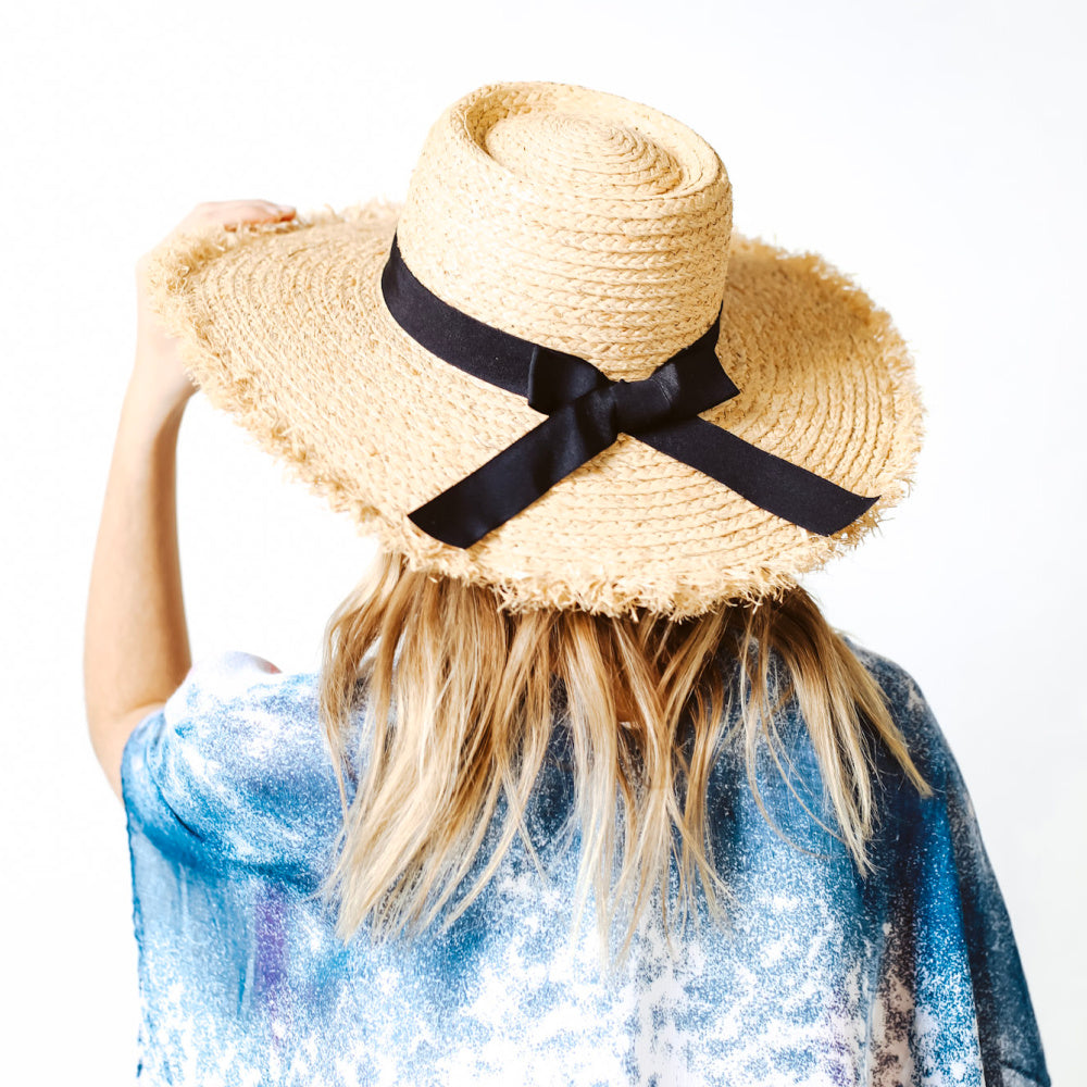 Newport Wide Brim Beach Hat