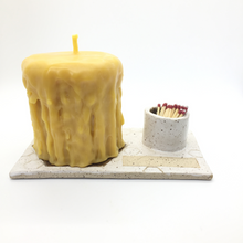 Load image into Gallery viewer, Candle Caddy with Match Holder & Strike Strip