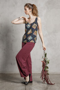Layla Silk Trousers