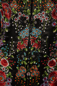 Rosalie - Silk Embroidered Chinese Coat