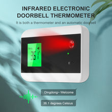 Load image into Gallery viewer, Electronic Doorbell Infrared Thermometer with Bluetooth