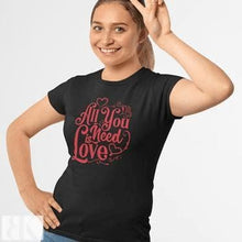All You Need Is Love Women's T-Shirt-BK Variety Market