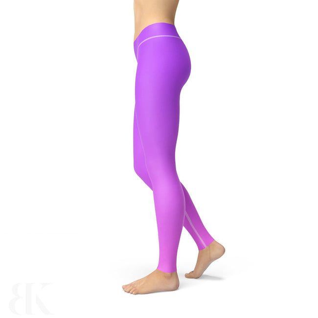 Avery Purple Pink Ombre Legging-BK Variety Market