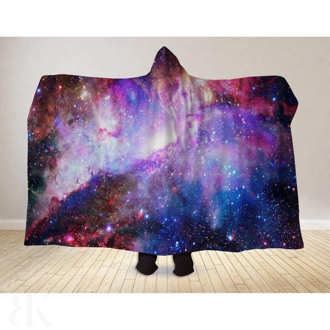 Blue Galaxy Hooded Blanket-BK Variety Market