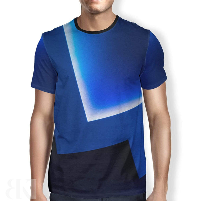Blue Hue Men's T-Shirt-BK Variety Market