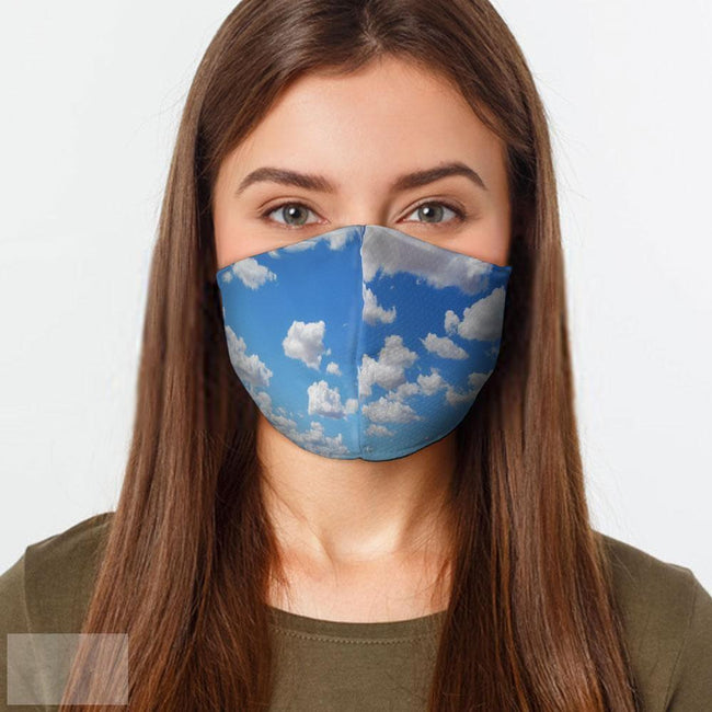 Clouds Face Mask-BK Variety Market