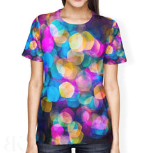 Colored Prisms Ladies' T-Shirt-BK Variety Market
