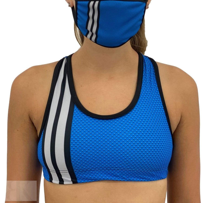Detroit Football Sports Bra-BK Variety Market
