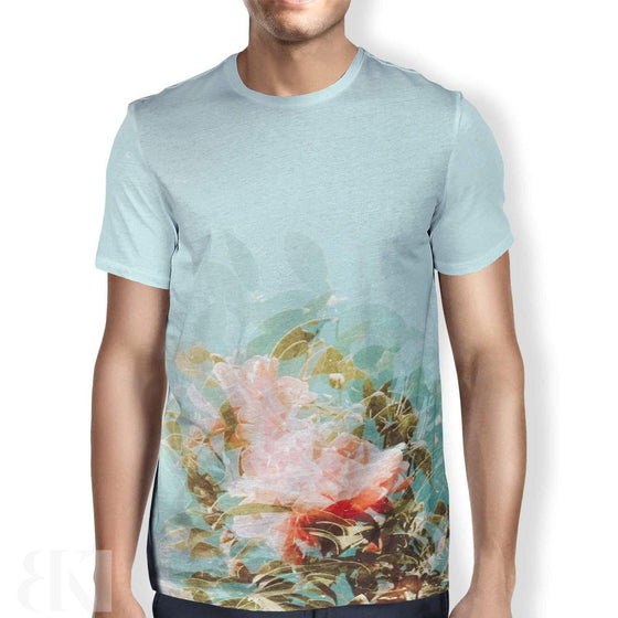 Faded Rose Men's T-Shirt-BK Variety Market