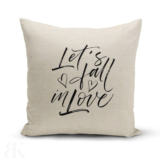 Fall In Love Pillow Cover-BK Variety Market