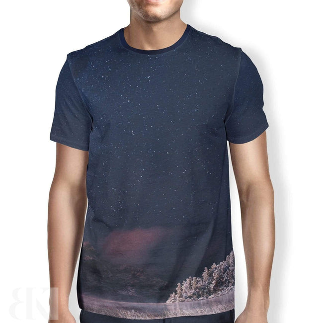 Frozen Lake Men's T-Shirt-BK Variety Market