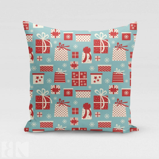 Gift Wrapped Pillow Cover-BK Variety Market