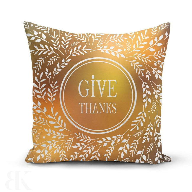Give Thanks Pillow Cover-BK Variety Market