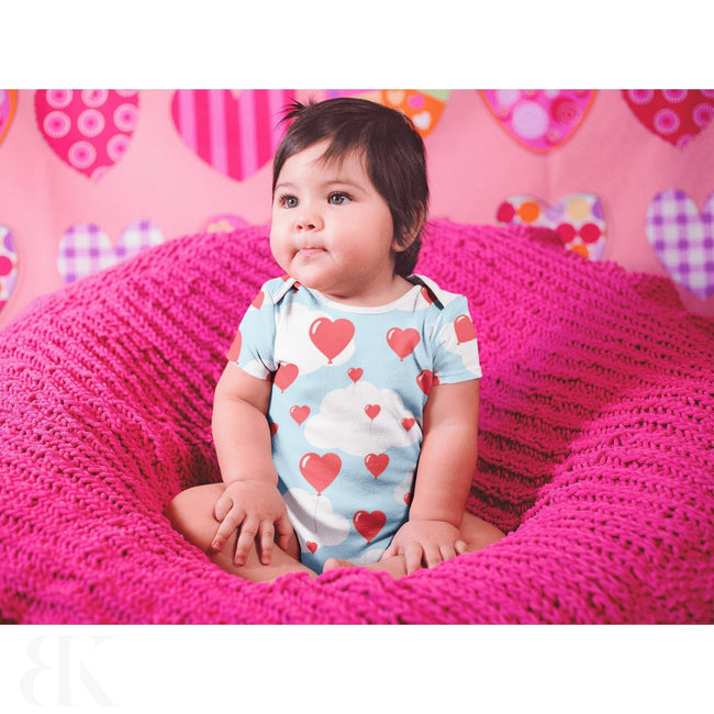 Heart Balloons One Piece Outfit-BK Variety Market
