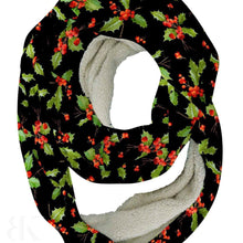 Holiday Holly Infinity Scarf-BK Variety Market