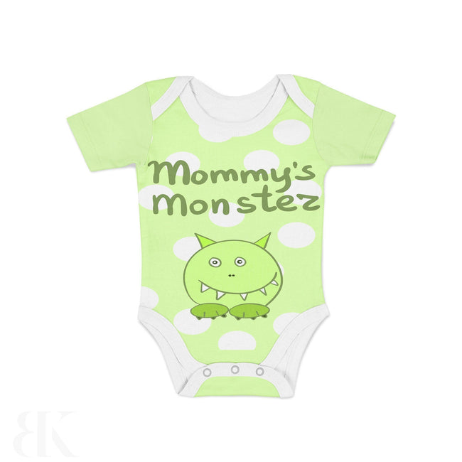 Infant Mommys Monster One Piece Outfit-BK Variety Market