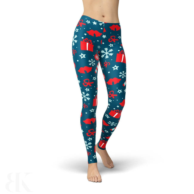 Jean Presents And Snowflakes Legging-BK Variety Market