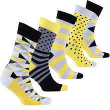 Men's Fresh Mix Set Socks-BK Variety Market