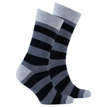 Men's Iron Gate Stripe Socks-BK Variety Market