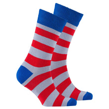 Men's Red Armour Stripe Socks-BK Variety Market
