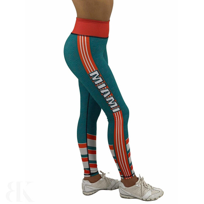 Miami Football Jean Legging-BK Variety Market