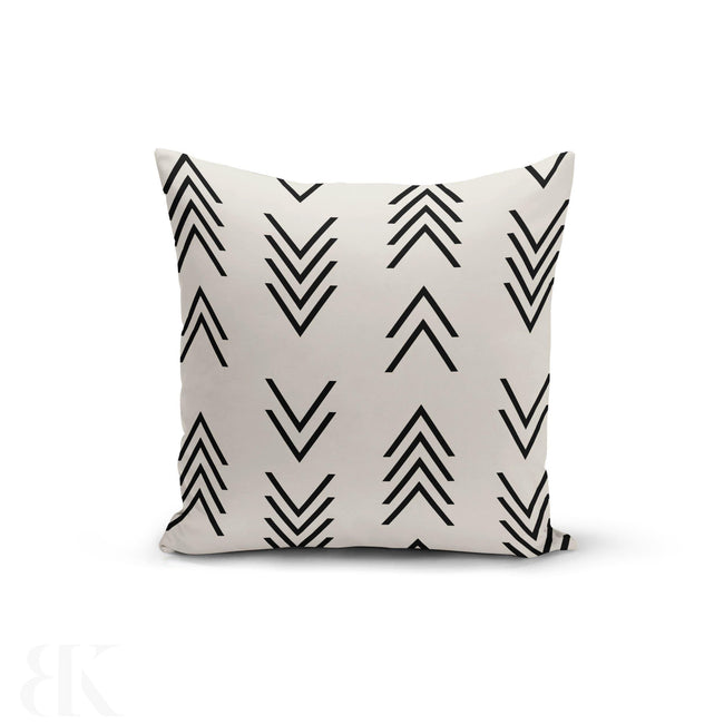 Modern Arrow Top Pillow Cover-BK Variety Market
