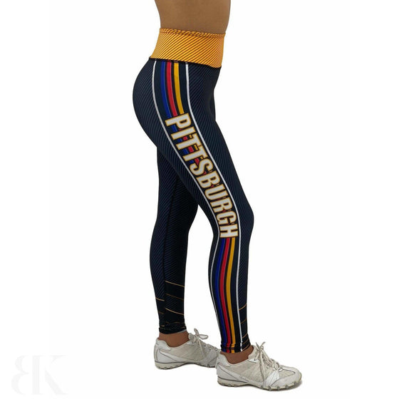 Pittsburgh Football Jean Legging-BK Variety Market