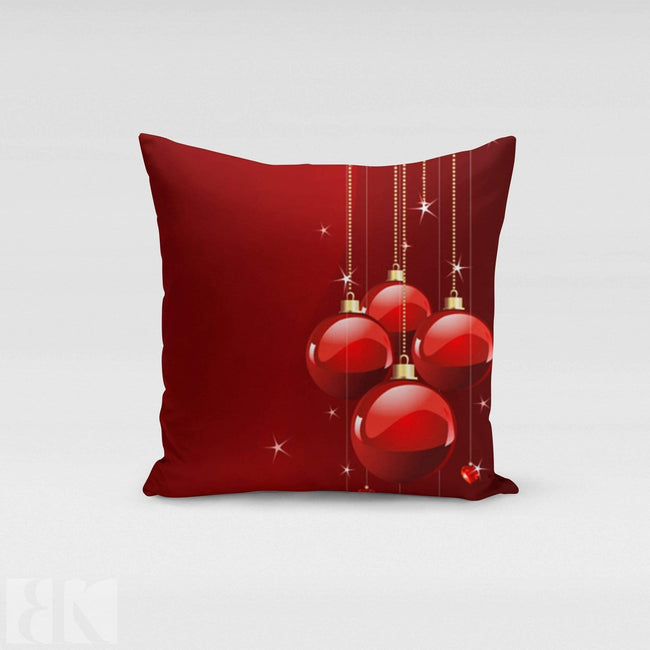 Red Ornaments Pillow Cover-BK Variety Market