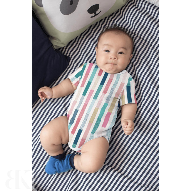Retro Stripes One Piece Outfit-BK Variety Market