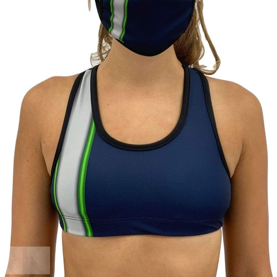 Seattle Football Sports Bra-BK Variety Market