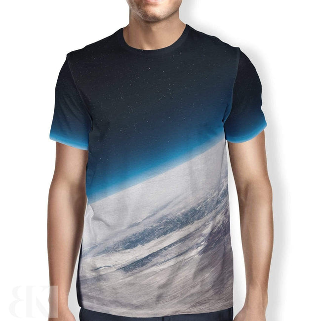 Tilted Planet Men's T-Shirt-BK Variety Market