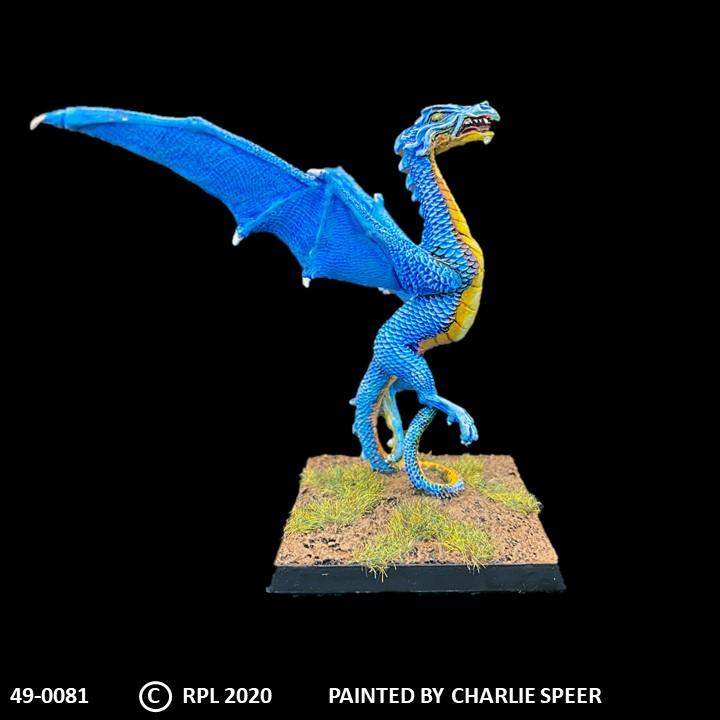 49-0081:  Wyvern, Taking Flight