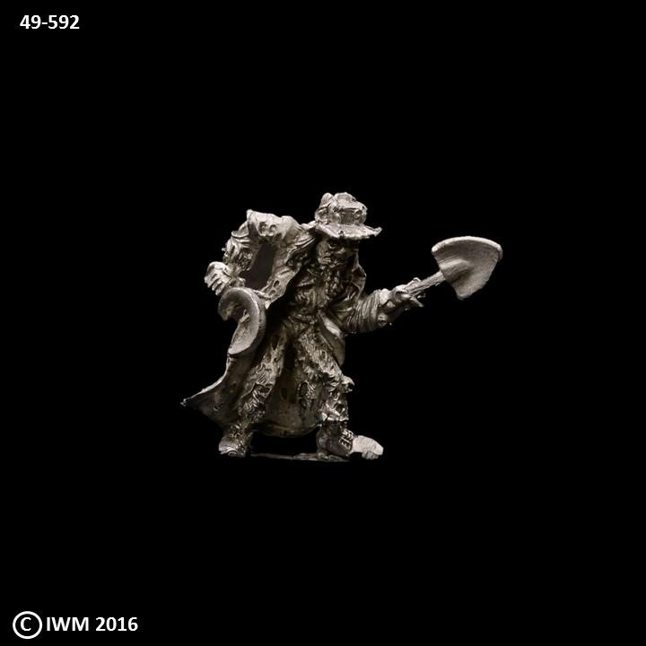 53-0982:  Scarecrow with Scythe and Shovel