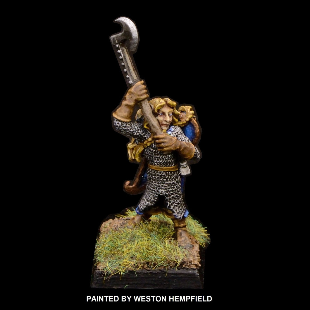 50-0034:  High Elf Honor Guard with Great Axe