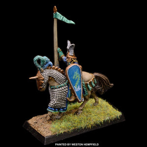 50-0051:  Sea Elf Heavy Cavalry Rider