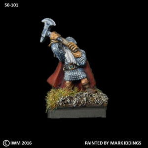 50-0101:  Dwarf Great Axe I, with Cape
