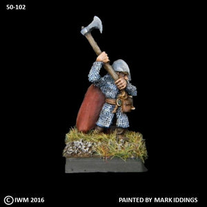 50-0102:  Dwarf Great Axe II, with Cape
