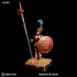 50-0301:  Amazon Warrior, On Guard