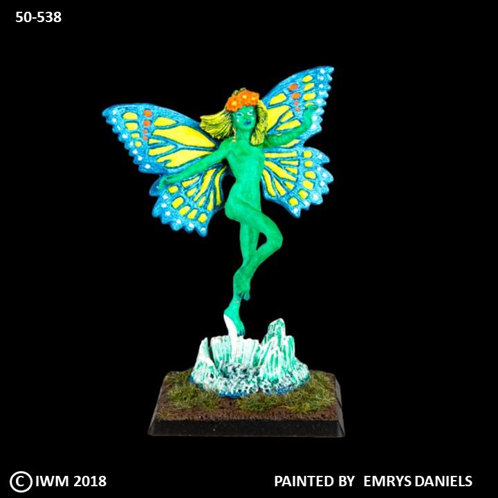 50-0538:  Greater Fairy with Butterfly Wings