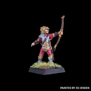 51-0515:  Chaos Acolyte with Bow, Firing