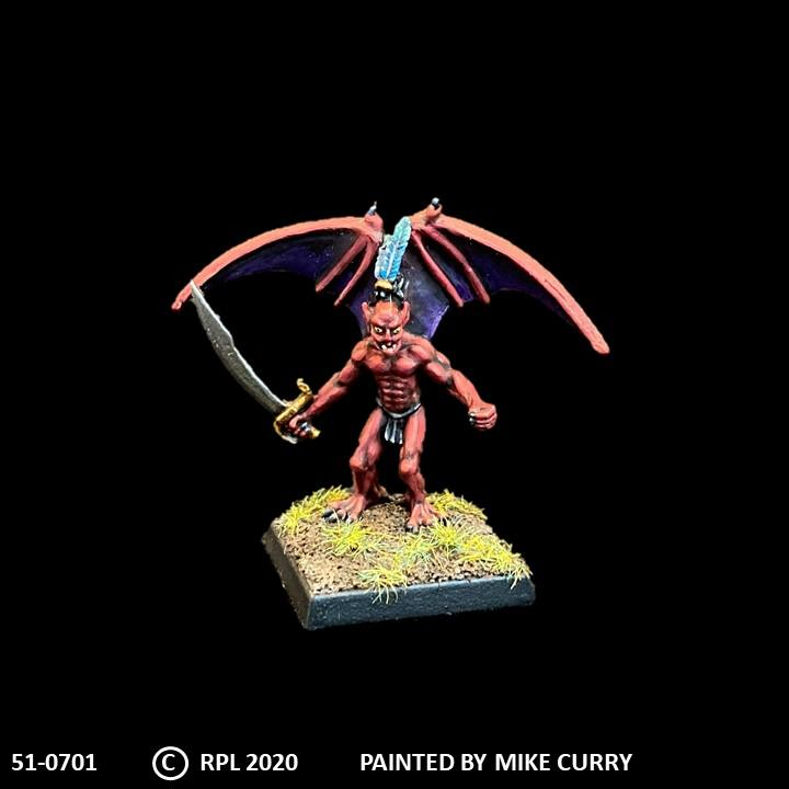 51-0701:  Gremlin with Sword