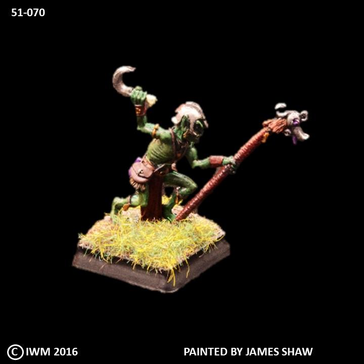 51-0070:  Goblin Shaman with Staff