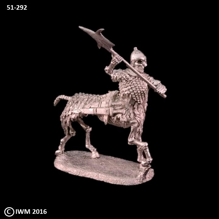 51-0292:  Skeletal Centaur in Scalemail