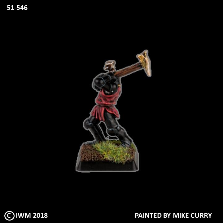 51-0546:  Chaos Knight with Great Hammer
