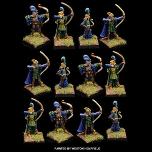 98-0102:  Elf Bowmen Regiment Set