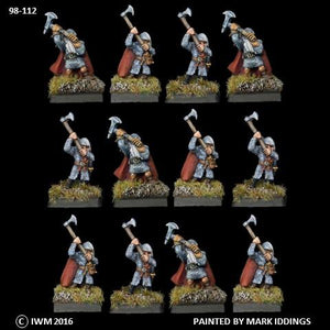 98-0112:  Dwarves with Great Axes