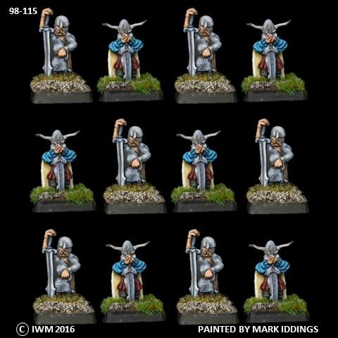98-0115:  Dwarf Greatswords