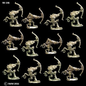 98-0146:  Troglodyte Archers Regiment Set