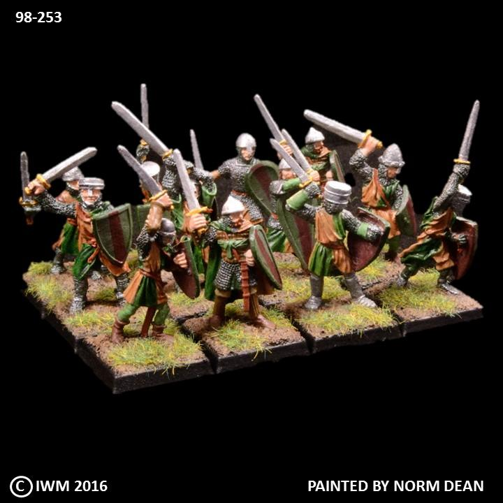 98-0253:  Kingdoms of Men: Avalon Swordsmen  Regiment Set